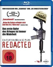 Redacted (Blu-ray), Blu-ray Disc