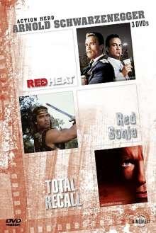 Arnold Schwarzenegger Edition, 3 DVDs