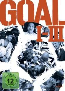 Goal I-III, 3 DVDs