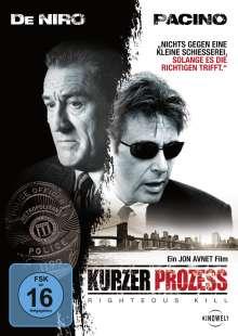 Kurzer Prozess - Righteous Kill, DVD
