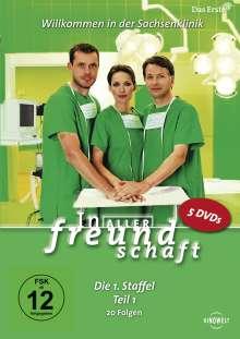 In aller Freundschaft Staffel 1 Box 1, 5 DVDs
