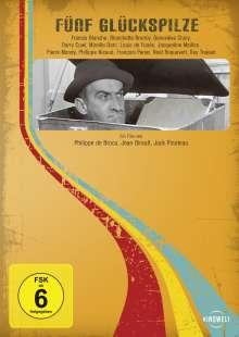 Louis de Funes: Fünf Glückspilze, DVD
