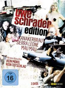 Uwe Schrader Edition, 3 DVDs