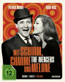 Mit Schirm, Charme und Melone Edition 1: Staffel 4 (Blu-ray), 7 Blu-ray Discs