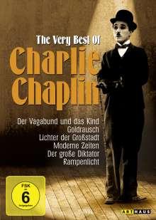 Charlie Chaplin: The Very Best of Charlie Chaplin, 6 DVDs