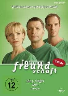 In aller Freundschaft Staffel 5 Box 1, 6 DVDs