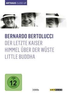 Bernardo Bertolucci Arthaus Close-Up, 3 DVDs