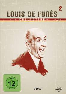 Louis de Funes Collection 2, 3 DVDs