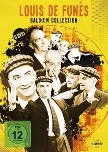 Louis de Funes: Balduin Collection, 6 DVDs