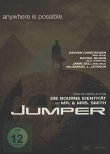 Jumper (Steelbook), DVD
