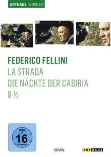 Federico Fellini Arthaus Close-Up, 3 DVDs