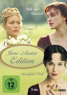 Jane Austen Edition, 3 DVDs