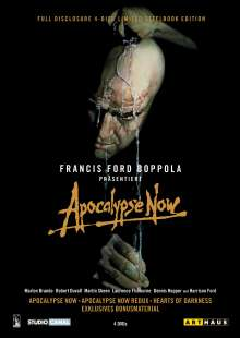 Apocalypse Now - Full Disclosure (Steelbook), 4 DVDs