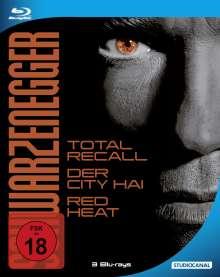 Schwarzenegger Steel Edition (Steelbook) (Blu-ray), 3 Blu-ray Discs