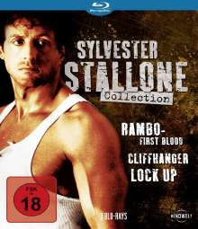 Sylvester Stallone Collection (Blu-ray), 3 Blu-ray Discs