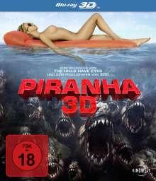 Piranha 3D (3D Blu-ray), Blu-ray Disc