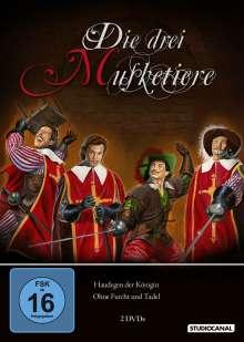Die drei Musketiere Teile 1 & 2 (1961), 2 DVDs