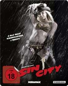 Sin City (Kinofassung & Recut) (Steelbook) (Blu-ray), 2 Blu-ray Discs