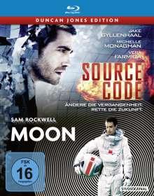 Source Code / Moon (Blu-ray im Steelbook), 2 Blu-ray Discs