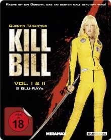 Kill Bill Vol.1 & 2 (Blu-ray im Steelbook)