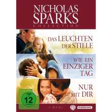 Nicholas Sparks Bestseller Edition, 3 DVDs