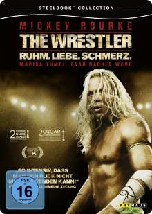 The Wrestler (Steelbook), DVD