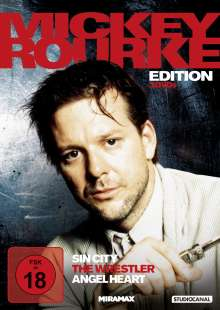 Mickey Rourke Edition, 3 DVDs