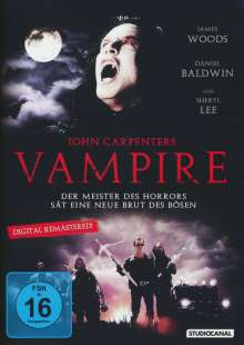 John Carpenter's Vampire, DVD