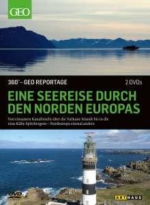 360° Geo-Reportage: Eine Seereise durch den Norden Europas, 2 DVDs