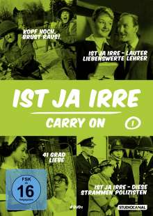 Ist ja irre - Carry On Vol.1, 4 DVDs