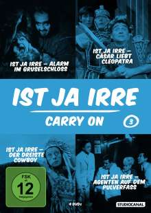 Ist ja irre - Carry On Vol.3, DVD