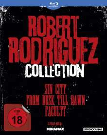 Robert Rodriguez Collection (Blu-ray), 3 Blu-ray Discs