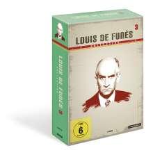 Louis de Funes Collection 3, 3 DVDs