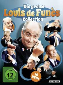 Louis de Funes - Die große Collection, 16 DVDs