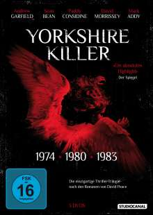 Yorkshire Killer (auch: Red Riding Trilogy), 3 DVDs