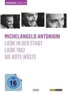 Michelangelo Antonioni Arthaus Close-Up, 3 DVDs