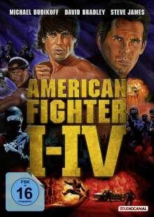 American Fighter 1-4, DVD