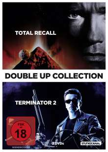 Terminator 2 / Total Recall, 2 DVDs