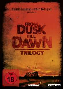 From Dusk Till Dawn (Trilogy), 3 DVDs