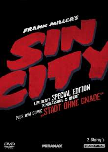 Sin City (Special Edition) (Blu-ray), 2 Blu-ray Discs