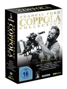 Francis Ford Coppola Collection, 7 DVDs