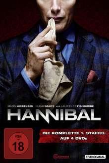 Hannibal Staffel 1, 4 DVDs