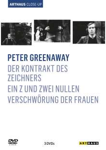 Peter Greenaway - Arthaus Close-Up, 3 DVDs