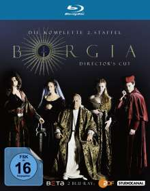 Borgia Staffel 2 (Director's Cut) (Blu-ray), 2 Blu-ray Discs