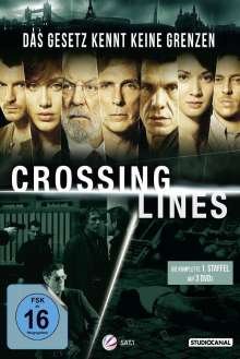 Crossing Lines Staffel 1, 3 DVDs