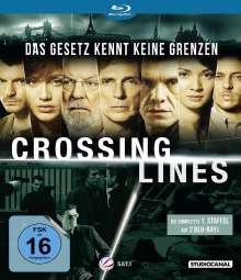 Crossing Lines Staffel 1 (Blu-ray), 2 Blu-ray Discs