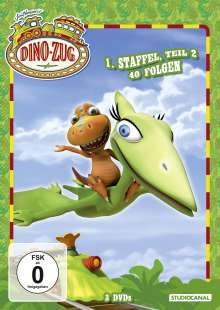 Dino-Zug Staffel 1 Box 2, 3 DVDs