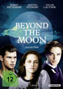 Beyond the Moon - Robert Pattinson, Kristen Stewart & Taylor Lautner Collection, 3 DVDs