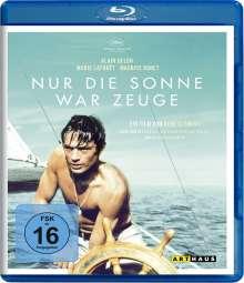 Nur die Sonne war Zeuge (Blu-ray), Blu-ray Disc