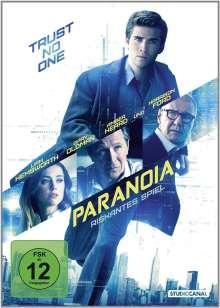 Paranoia, DVD